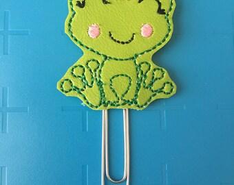 Froggie Prince Planner Clip