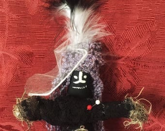 Authentic Voodoo Doll New Handmade New Orleans Inspired Vodou Doll Healing Strength