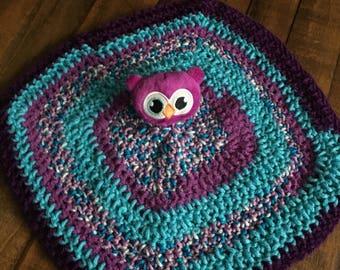 Purple Owl Lovey