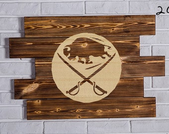 Buffalo Sabres Wood Sign  Buffalo Sabres Wall art  Buffalo Sabres Gift  Buffalo Sabres Birthday  Buffalo Sabres Party wooden