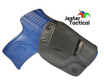Ruger LC9/LC9s/LC380 Custom Kydex IWB Holster for Concealed Carry