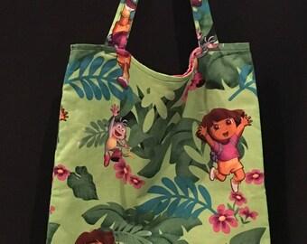 Dora the Explorer Cotton Tote Bag