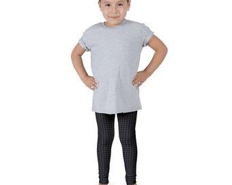 Chicken Farm Pattern Leggings /Girls Black Leggings/Color Bottoms/Sports pants/Farm Girl Leggings/Yoga Pants Tights