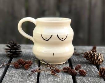 Curvy Lady Mug