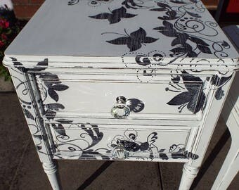 Shabby chic hand painted drawer set NOW SOLD