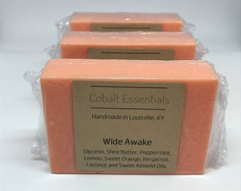 Wide Awake Hydrating Soap - Essential Oil Soap - Handmade Soap - Shea Butter Soap - Natural Soap - Citrus Soap