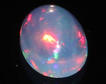 9x7 MM Natural Ethiopian Welo Fire Opal Cabochon, Ethiopian Opal Cabochon, Lowest Price, Ethiopian Opal Gemstone, Lowest Price Gemstone #S41