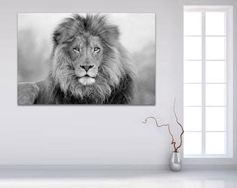 Attirant Lion Wall Art | Etsy