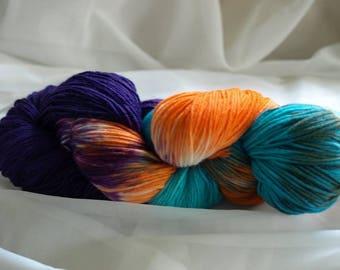 Lanartus Fine Merino socks, hand dyed precious socks wool