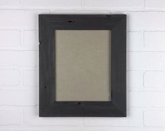 READY TO SHIP - Gray 8x10 Picture Frame - Hang Portrait Or Landscape