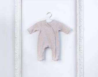 Organic Cotton Baby Clothes Footed Onesie Sleepsuit