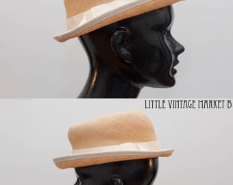 Straw Fedora Made in Montreal