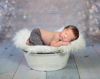 Digital background Newborn composing, basket, instant download
