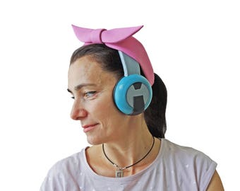 D.va headsets Cruiser skin from Overwatch cosplay prop