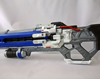 Soldier 76 rifle with LED's from Overwatch