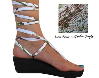 Pattern Gladiator Laces