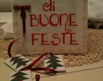 Square Christmas seasons greetings