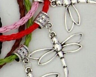 Beautiful Dragonfly Charm Bracelet