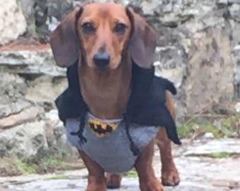 Batman sweater for Dachshund Dog