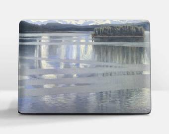 "Laptop skin (Custom size). Akseli Gallen-Kallela, ""Lake Keitele"". Laptop cover, HP, Lenovo, Dell, Sony, Asus, Samsung etc."