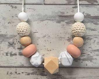 Charlotte Crochet Teething Necklace