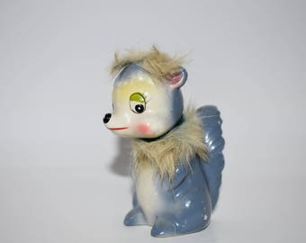 Squirrel figurine vintage