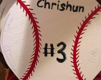 Wooden baseball/ softballs