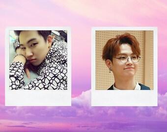 GOT7 JB Boyfriend Material Polaroid