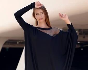 Kaftan Dress, Maxi Dress, Long Sleeve Dress, Caftan Dress, Long Dress, Long Maxi Dress, Dress, Plus Size Dress, Black Maxi Dress, Markiiza