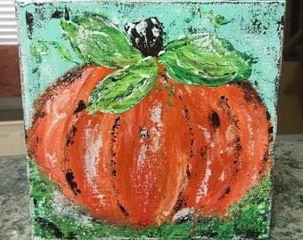 Pumpkin Painting, pumpkin art, fall art, fall decor, halloween, thanksgiving