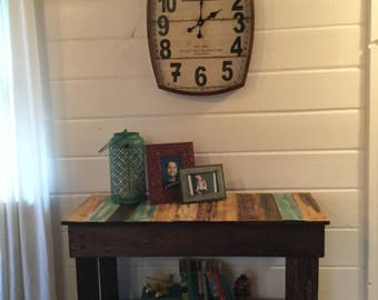 Rustic Console Table,entry Foyer Table,rustic Kitchen Island,farmhouse  Console Table,
