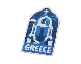 Greece Travel Patch