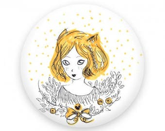 Miss Fox badge