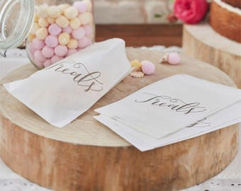 Boho Wedding Candy Bags - Pack of 25