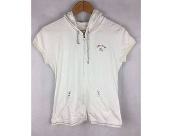 BURBERRY LONDON Activewear With Hooded Size 160A With Small Embroiled Logo Fully Zipper And Pockets