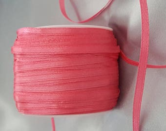 Pink Satin Ribbon / Fuchsia