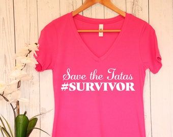 Save the Tatas Breast Cancer T Shirt