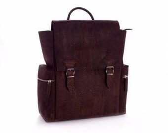 Sac à dos en liège, cork backpack, kork rucksack.