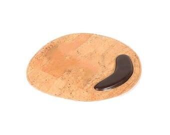Mousepad Cork / cork mousepad.