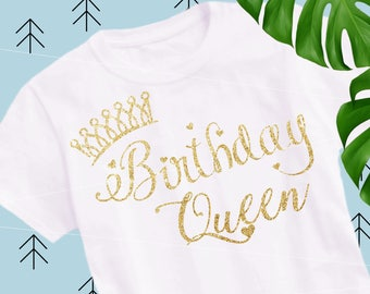 Birthday Queen Svg Birthday Svg files for Cricut Silhouette Birthday Cut file cutting file svg png eps dxf lfvs