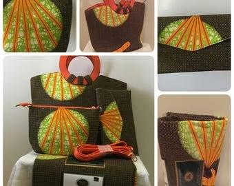 Vlisco wax hollandais fabric collections