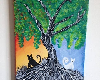 Night and Day, Tree of Life, Cats