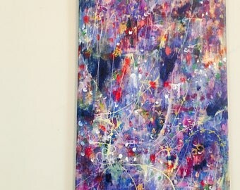 Abstract Expressionist Style Original Painting