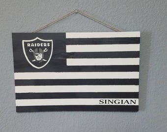 Personalized Football Team Flag in team colors