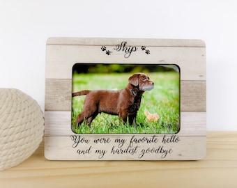Personalized Pet  Frame Dog Memorial Frame Pet loss Gift Cat frame  Pet Sympathy Gift Cat Memorial Frame