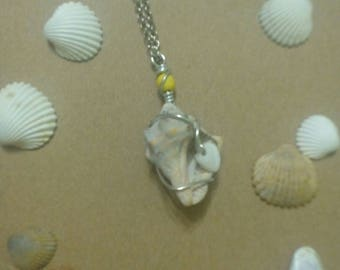 Pendant conch shell