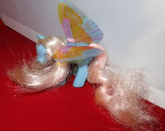 Summer Wing Glow Butterfly My Little Pony Vintage Hasbro 1980s