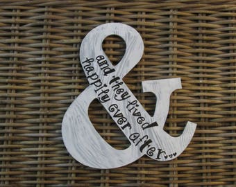 And they lived happily ever after ampersand