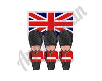 British Guards - Machine Embroidery Design