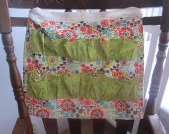 Chicken Egg-Collecting/Gathering Apron with Pockets